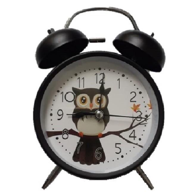 Relógio Despertador Decorativo Coruja