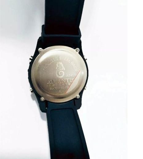 Relógio Digital Masculino Esportivo Prova D´água Atlantis A7457