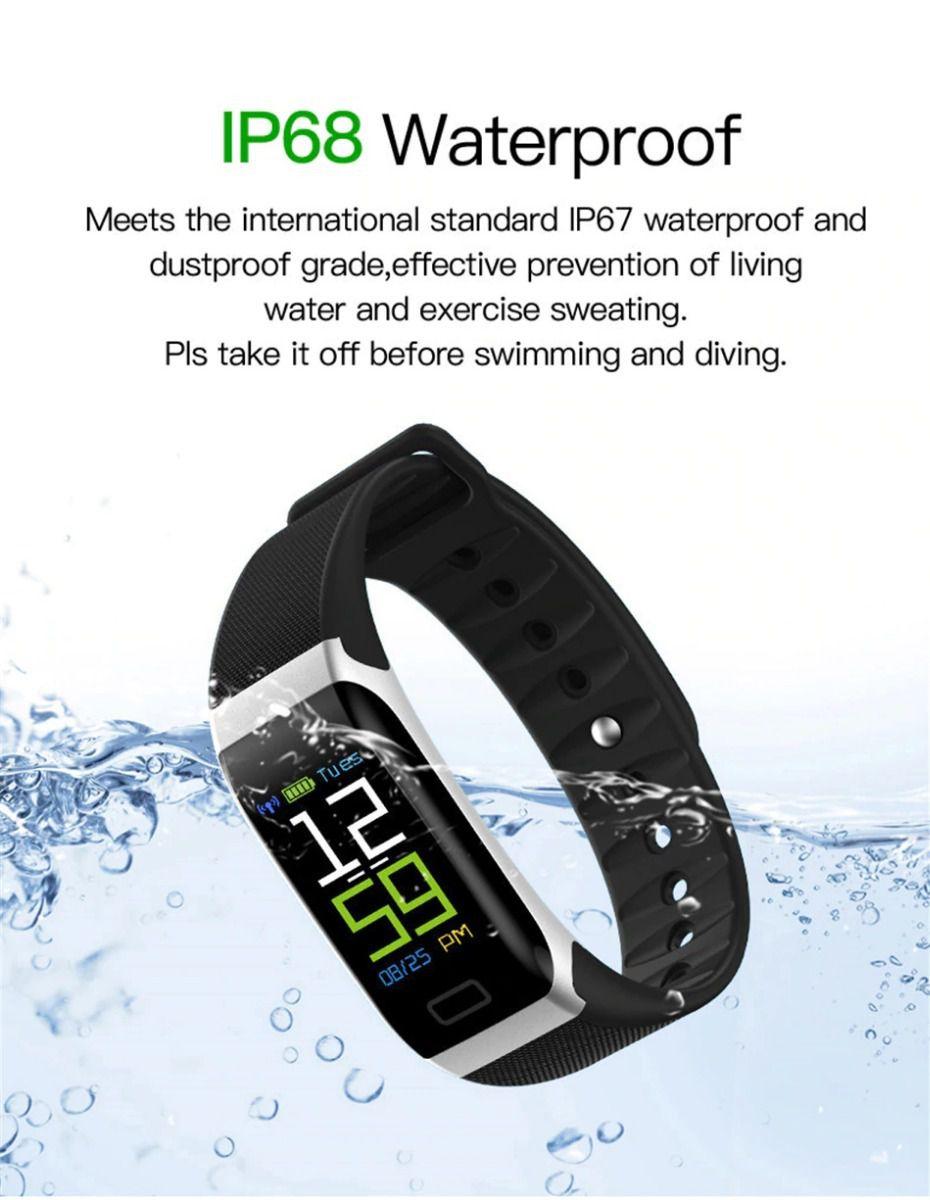 Relogio Inteligente Pulseira Bracelete  SmartWatch  R7  Plus Android e IOS