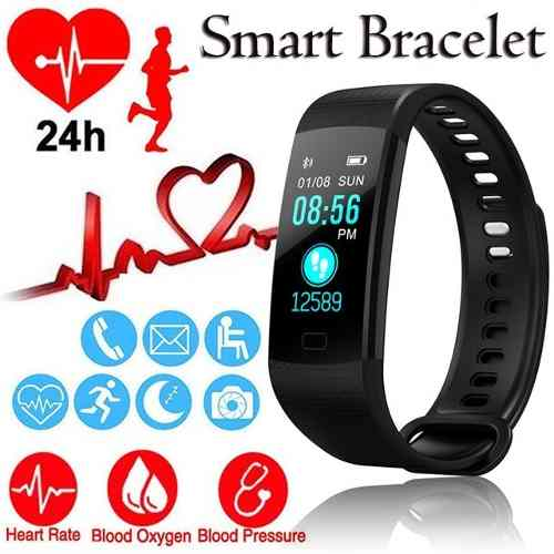 Relógio Inteligente Smartband M3 + Plus Monitor Cardíaco