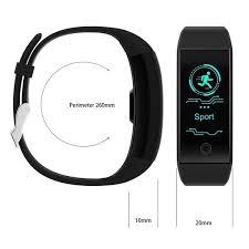 Relógio Inteligente Smartband QW18 Monitor Cardíaco Tela Colorida  a Prova D agua Rastreador Fitness