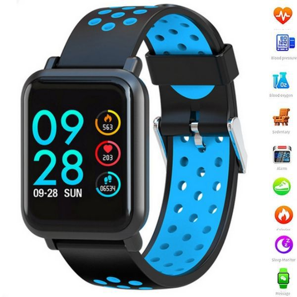 Relógio Inteligente SmartWatch  B1 Bluetooth, Facebook Whatsapp Esportes e Saúde Preto