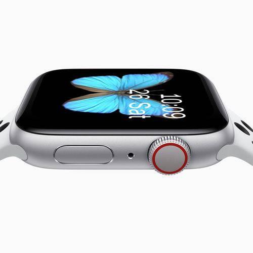 Relogio Inteligente SmartWatch Iwo9 44mm compatível Iphone Samsung Lançamento 2019 cor preto