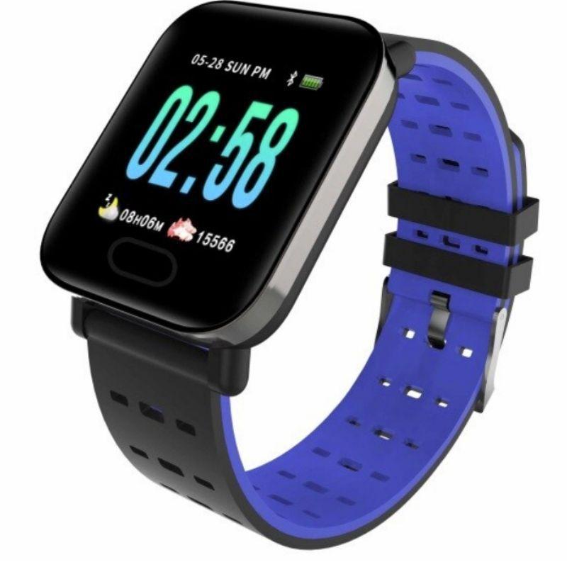 Relógio masculino e Feminino Smartwatch A6  Android e IOS Prata
