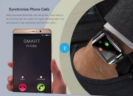 Relogio Masculino Smartwatch Q18 Ligações Android Preto
