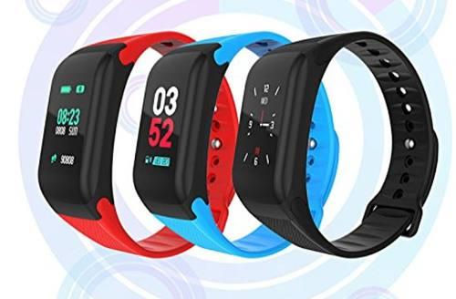 Relogio F1 Pulseira Bracelete Inteligente SmartWatch M3 + Plus Android e IOS Cinza