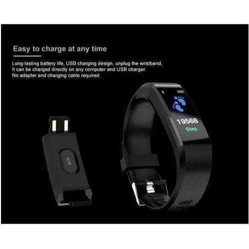 Relogio Pulseira Bracelete Inteligente SmartWatch M3 + Plus Android e IOS Lançamento