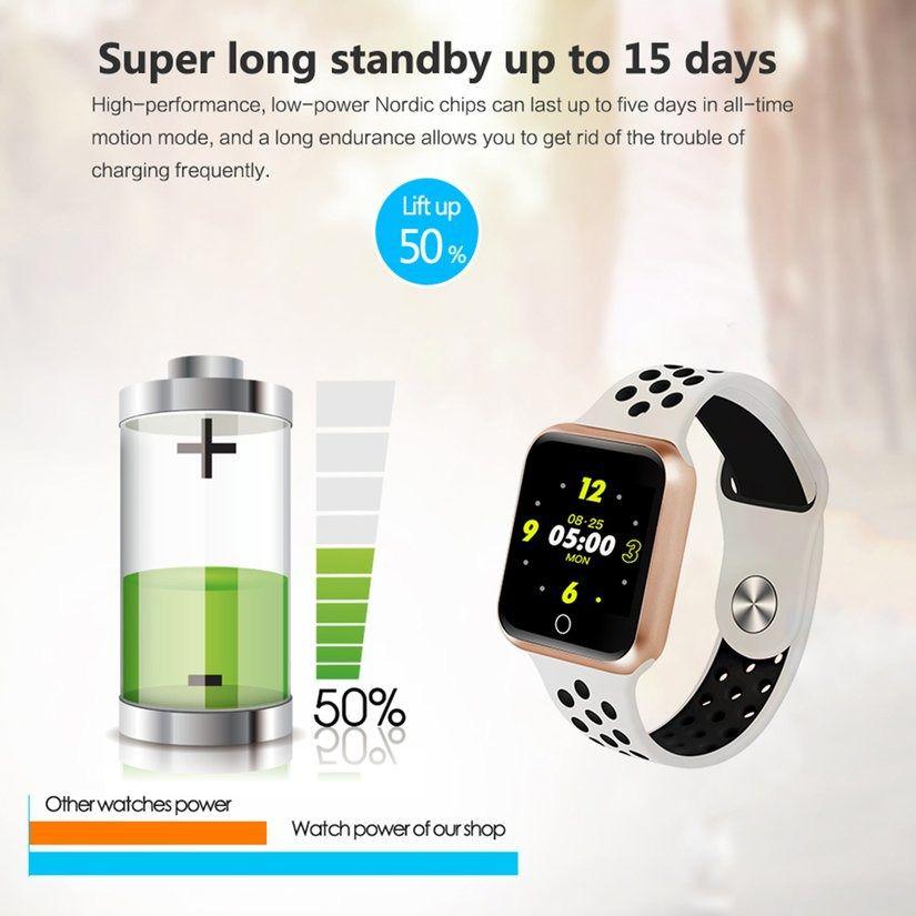 Relógio S226 Android Smartwatch Notificações  Bluetooth, Camera Facebook Whatsapp - Dourado