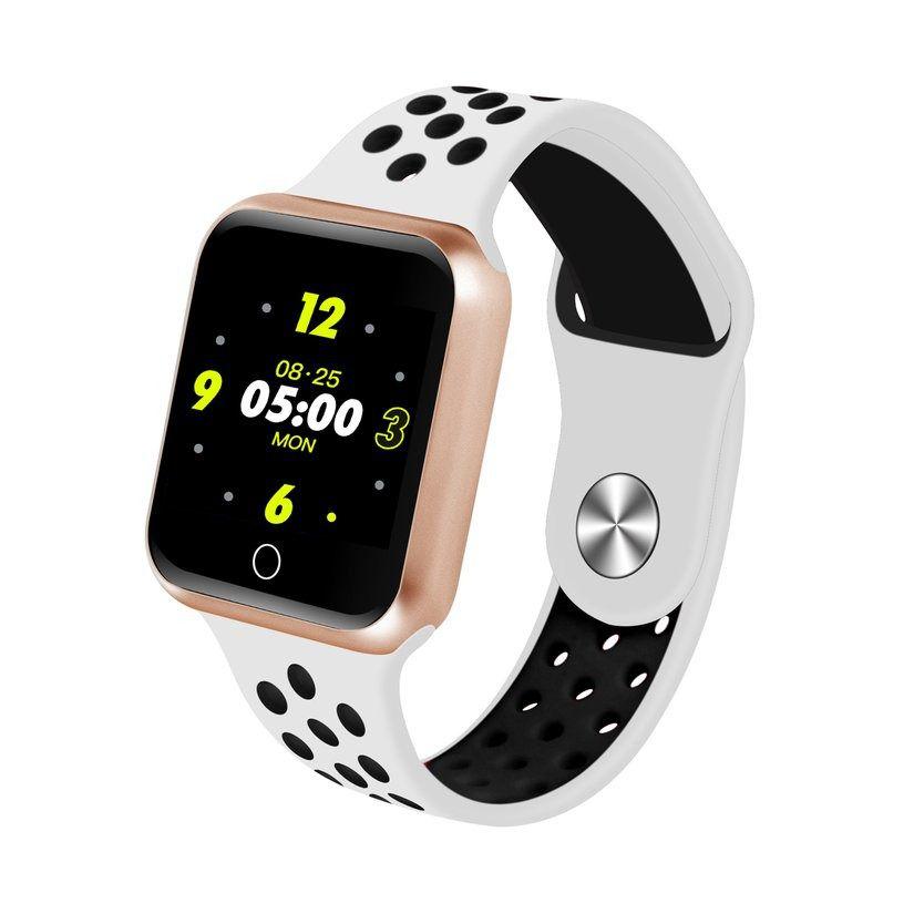 Relógio S226 Smartwatch Android, Notificações  Bluetooth, Camera Facebook Whatsapp - Dourado