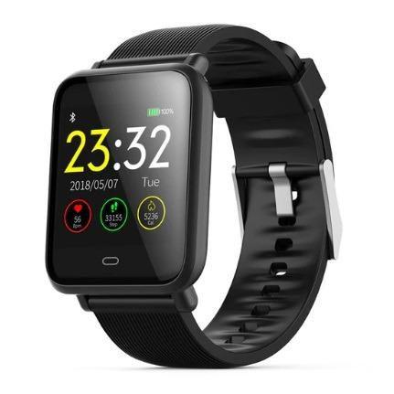 Relógio Smart Bracelete Inteligente Smartband  Q9 Monitor Cardíaco