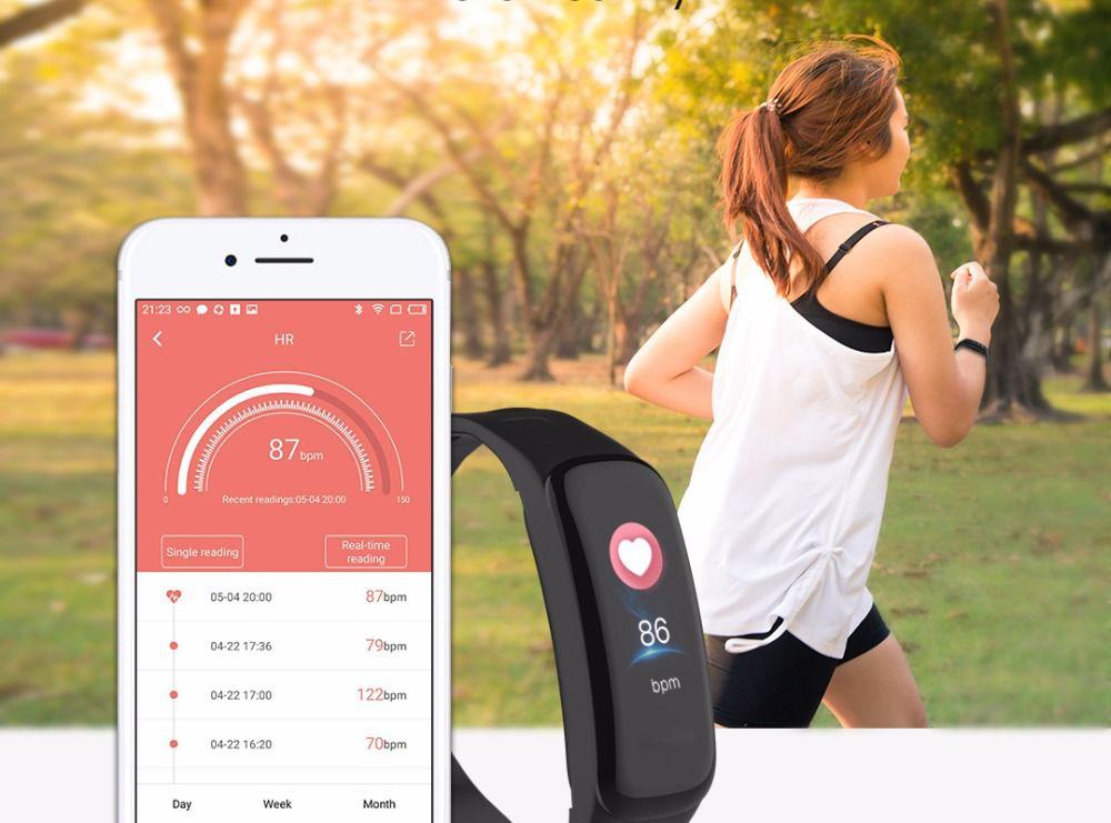Relogio SmartWatch M3 C1 Plus Monitor Cardíaco Pressão Arterial
