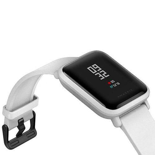 Relógio Smartwatch Amazfit Bip A1608 Ligação/Redes Sociais com Bluetooth/GPS Wifi - Branco