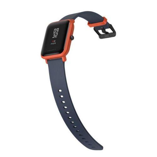 Relógio Smartwatch Amazfit Bip A1608 Ligação/Redes Sociais com Bluetooth/GPS Wifi - Laranja