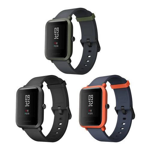 Relógio Smartwatch Amazfit Bip A1608 Ligação/Redes Sociais com Bluetooth/GPS Wifi - Preto