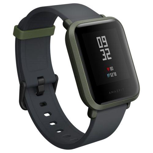 Relógio Smartwatch Amazfit Bip A1608 Ligação/Redes Sociais com Bluetooth/GPS Wifi - Verde
