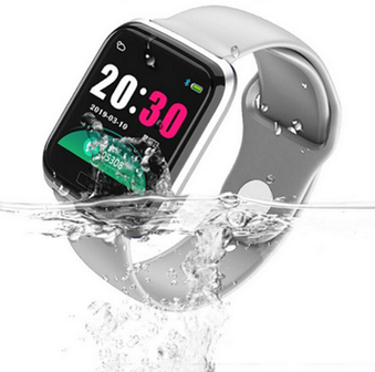 Relógio  Smartwatch CY5 Android, Notificações  Bluetooth, Facebook Whatsapp - Preto