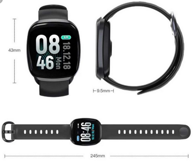 Relógio SmartWatch GT 103 Facebook Whats Instagram Facebook Dourado