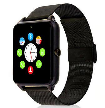 Relógio SmartWatch Inteligente Z60 Pulseira Bluetooth, Notificações Metal Prateado