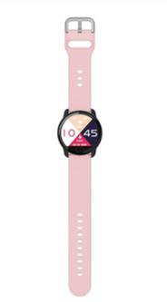 Relógio Smartwatch k9 Medidor de Coração e Pressão Bluetooth e Musica Rosa