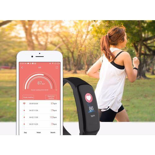 Relogio SmartWatch M3 C1 Monitor Cardíaco Pressão Arterial - Preto