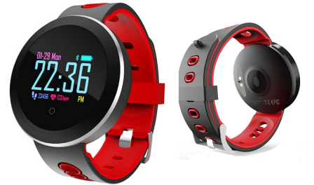Relógio Smartwatch Q8 Fitness Pressão Sanguínea Arterial Lançamento