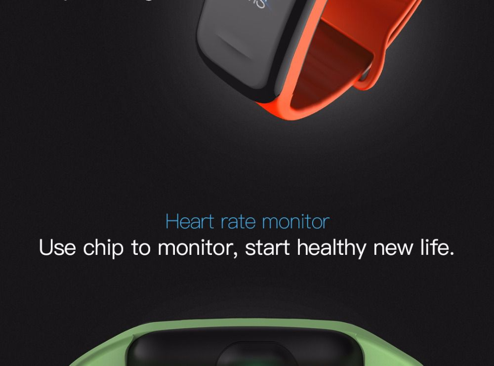 Relogio SmartWatch Smartband  M3 C1 Plus Monitor Cardíaco Pressão Arterial