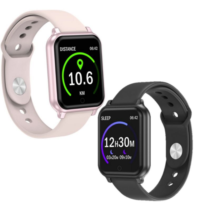 Relógio Smartwatch T70 Android, WhattsApp Face  Bluetooth, Camera - Rosa