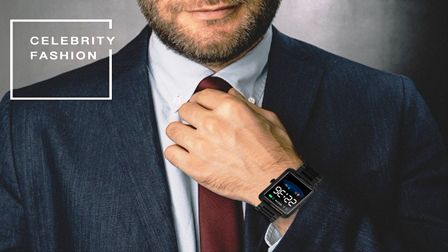 Relógio SmartWatch V60  Pulseira Metal Whats Face Instagram Preto