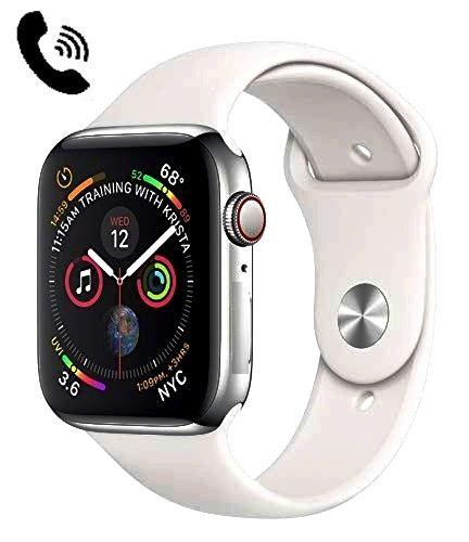 Relógio SmartWatch SmartWatch IWO 8 LITE ligações telefonicas Whats  Facebook Prata W34