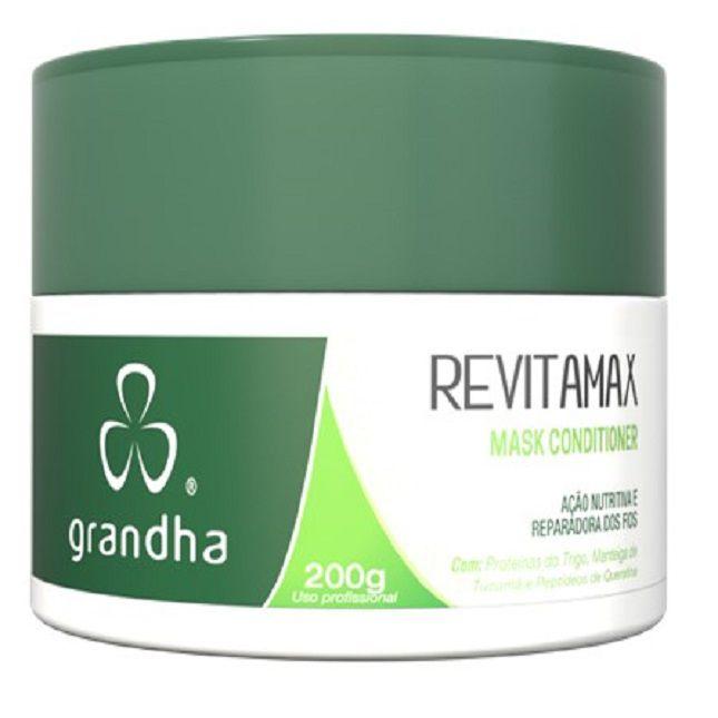 Revitamax Kit  Grandha  Cabelos Porosos e Danificados