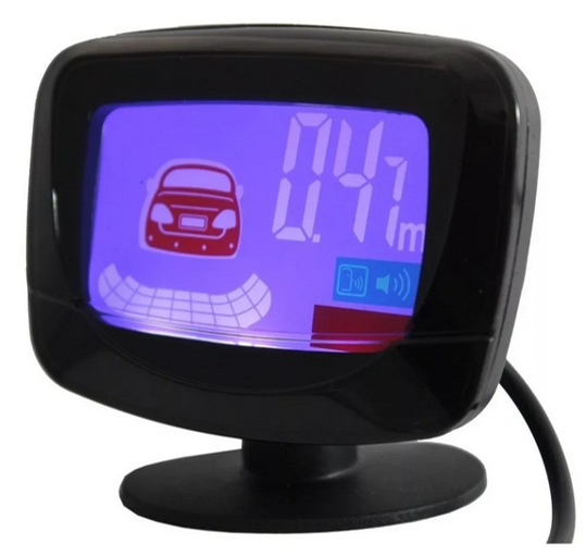 Sensor de ré e estacionamento com Display de distancia 6101