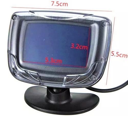 Sensor de ré e estacionamento com Display de distancia 6101