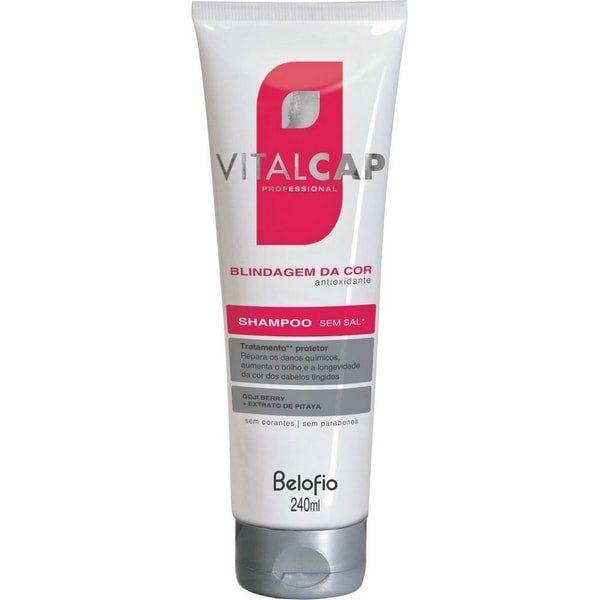 Shampoo Blindagem da Cor VITALCAP 240mL