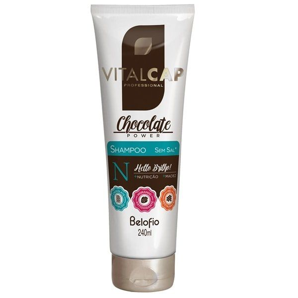 Shampoo Chocolate Power VITALCAP 240ml