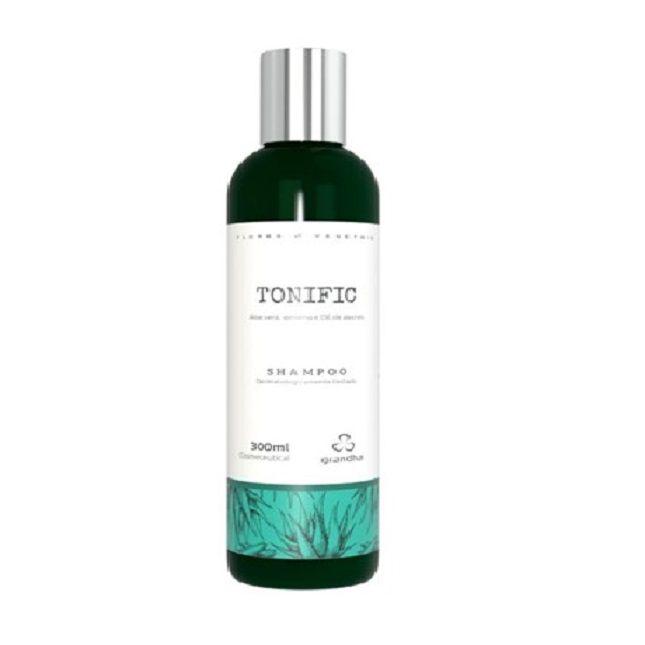 Shampoo Grandha Tonific  Flores e Vegetais 300ml