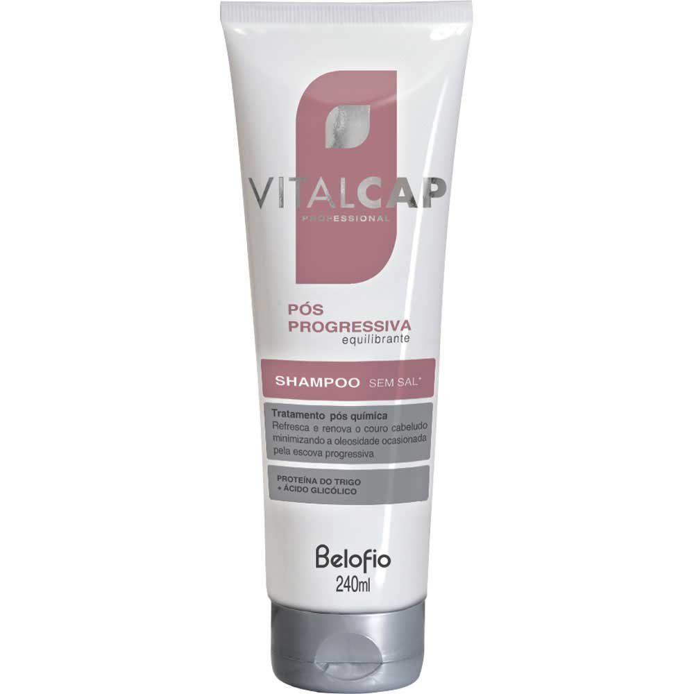 Shampoo Pós Progressiva VITALCAP 240ml