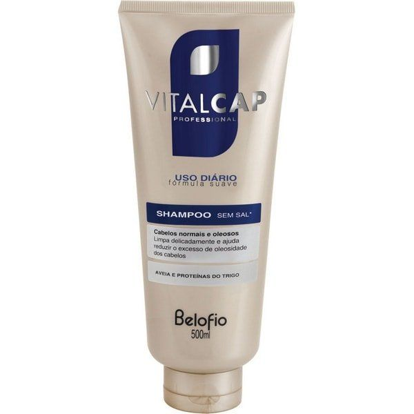 Shampoo (sem sal) Uso Diário VITALCAP 500ml