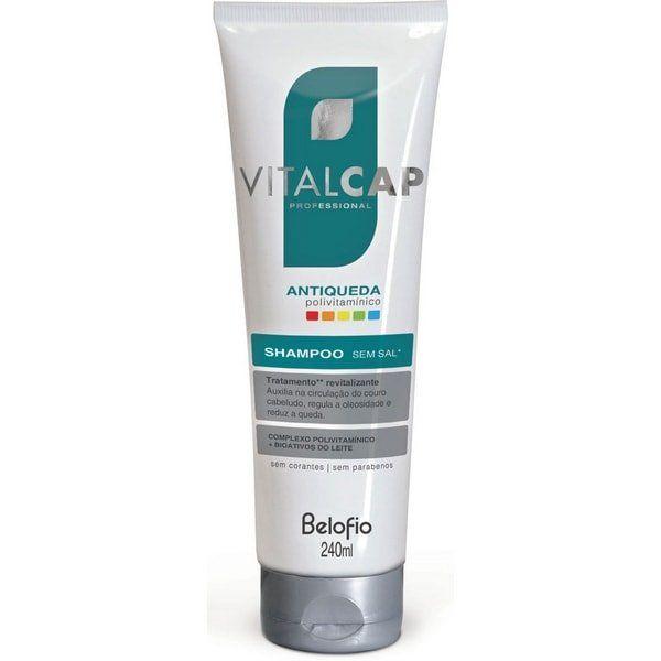 Shampoo (sem sal) VITALCAP Antiqueda Polivitamínico - 240ml