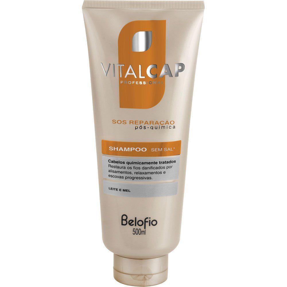 Shampoo SOS Reparação VITALCAP 500ml