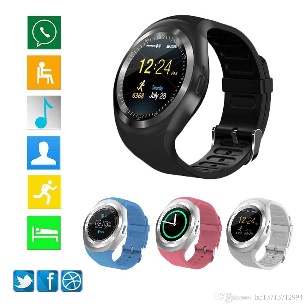 Smart Watch Y1 Relógio Inteligente  Android Touch Bluetooth