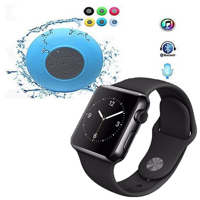 Smartwatch  A1 Android WhatsApp Face Bluetooth, Camera e Caixa Som Bluetooth