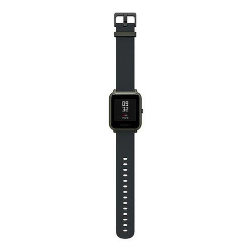 Smartwatch Amazfit Bip A1608 Ligação/Redes Sociais com Bluetooth/GPS Wifi - Preto
