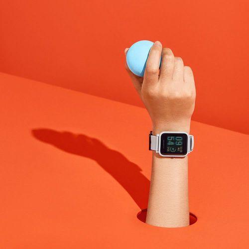 Smartwatch Amazfit Bip A1608 Ligação/Redes Sociais com Bluetooth/GPS Wifi - Verde