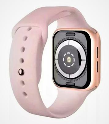 SmartWatch  Feminino  Iwo11 40mm compatível Samsung 2020 Rosa