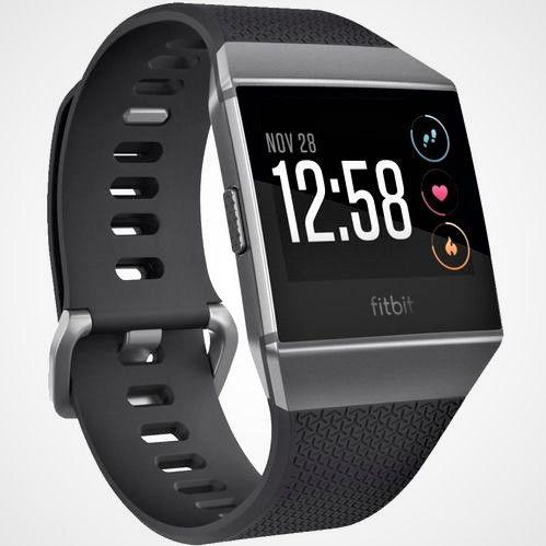 Smartwatch Fitbit ionic Cinza Small Large Lançamento