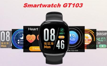 SmartWatch GT 103 Face Whats Tela com papel de parede Fotos