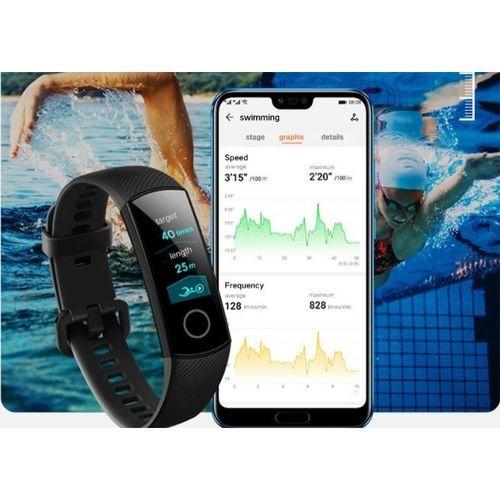 Smartwatch Huawei Honor Band 4 Treinos Notificações Caminhada Ciclismo