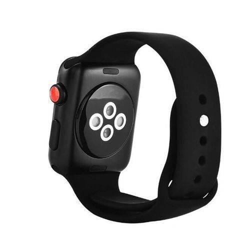 Smartwatch Iwo 8 44mm Relógio Inteligente Serie 4 Notificações Bluetooth Monitor Cardíaco - Preto
