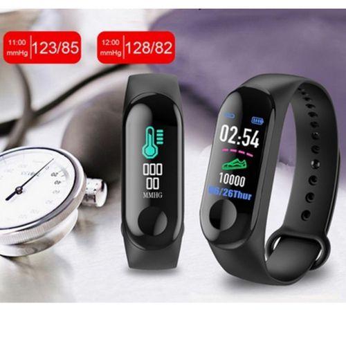Smartwatch M3  Bluetooth Monitor Cardiaco e Pressão Lançamento
