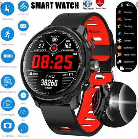SmartWatch RBL5 Microwear Esportes Saúde  Rede Sociais e Lanterna